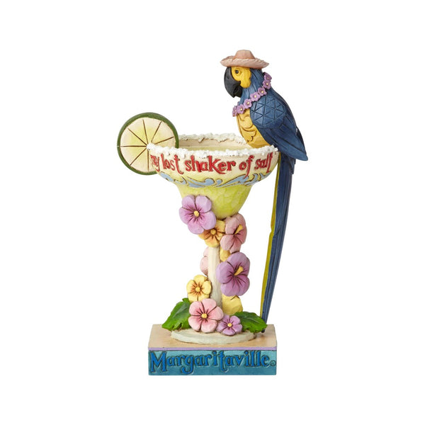Jim Shore Margaritaville Parrot Cocktail 6001536