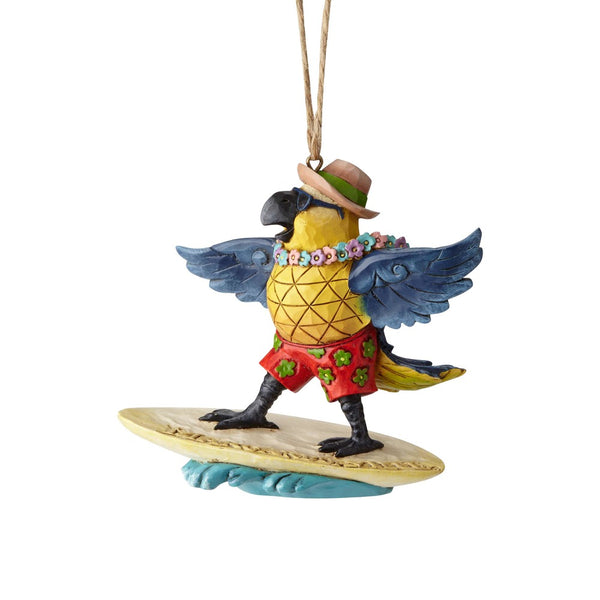 Jim Shore Margaritaville Surfing Parrot 6001538