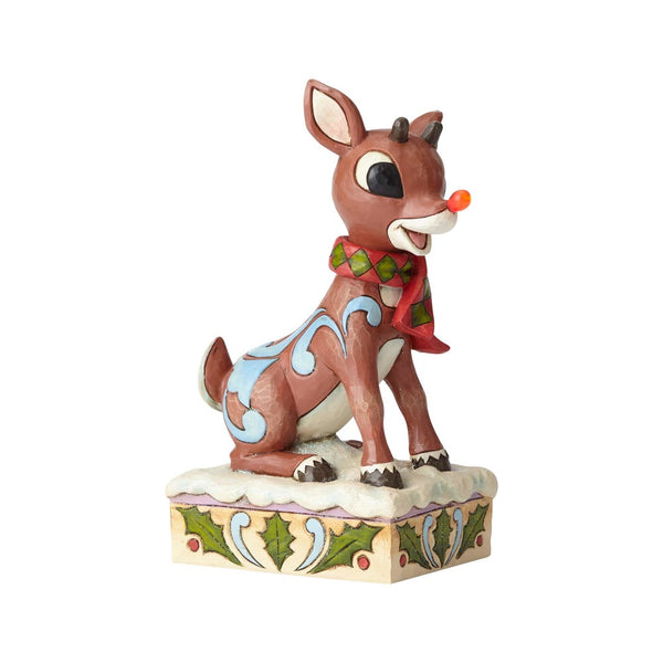 Jim Shore Rudolph with Lighted Nose 6001591