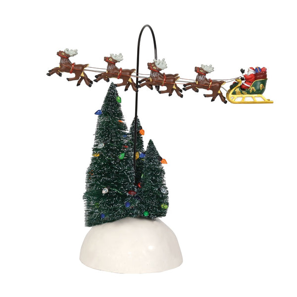 D56 Up, Up And Away Flying Sleigh 6001686