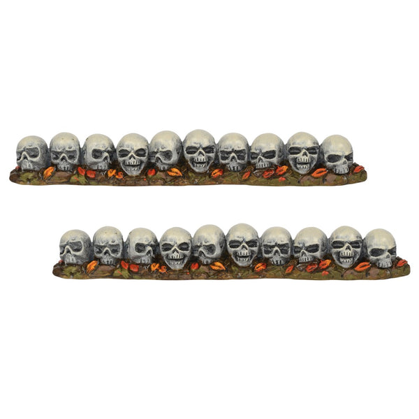 D56 Row Of Skulls, Straight 6001746