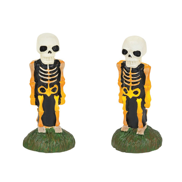 D56 Lit Skeleton Yard Décor 6001751