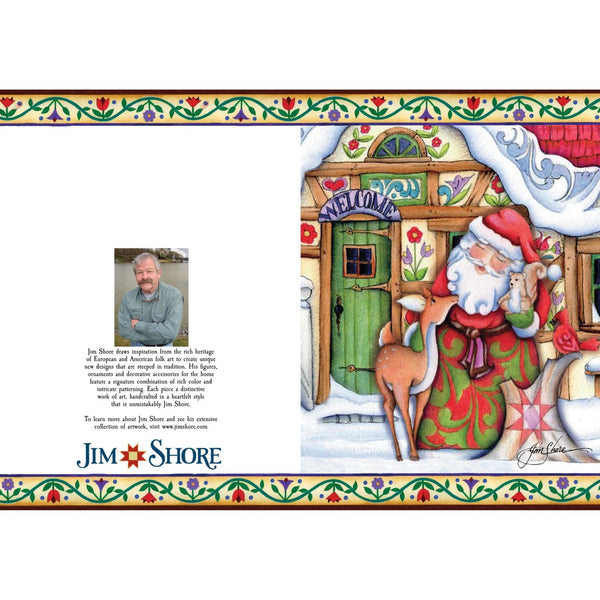 Jim Shore Nativity Holiday Card Set of 10 6002246