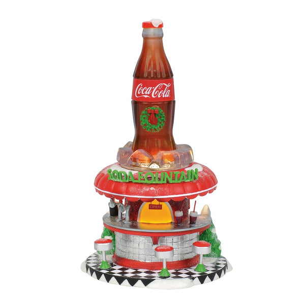 D56 Coca-Cola Soda Fountain 6002293