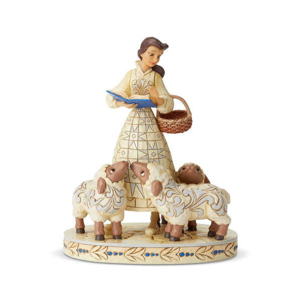 Disney Traditions Belle White Woodland 6002338