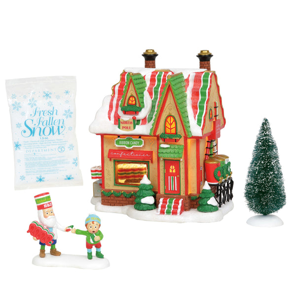 D56 North Pole Ribbon Candy 6004812