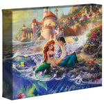 Kinkade The Little Mermaid Gallery Wrap 8x10 68341