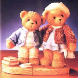 Cherished Teddies Clement And Jodie - Try-Try & Try Again 706744