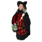 Byers Choice Cauldron Witch 7183