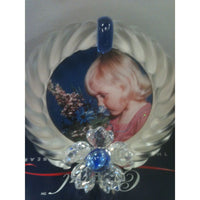 Swarovski Blue Flower Picture Frame 7506/000001