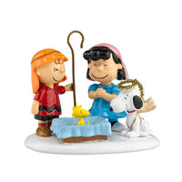 D56 Peanuts Nativity Pageant 808964