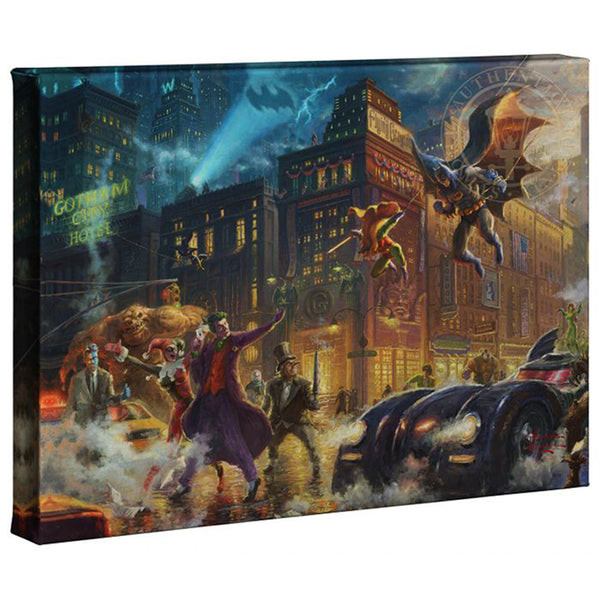 Kinkade The Dark Knight Gallery Wrap 10x14 81809