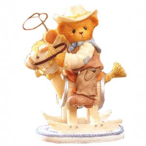 Cherished Teddies Wes - I Want To Be A Rough Rider Too 851523