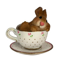 Wee Forest Folk Cuppa Cottontail B28