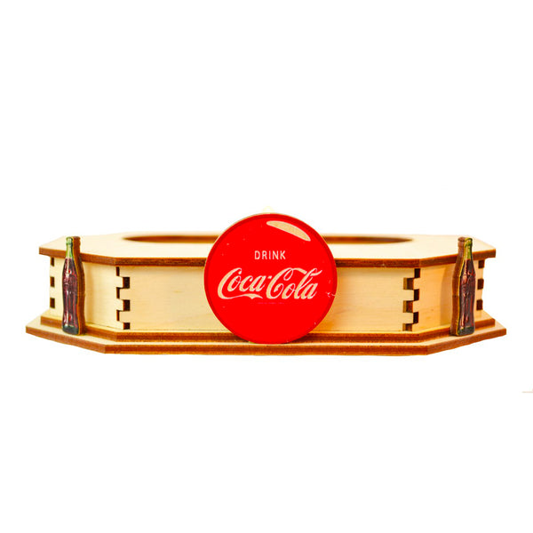 Ginger Cottages Coca-Cola Coca-Cola Display Stand Large CGCD105L