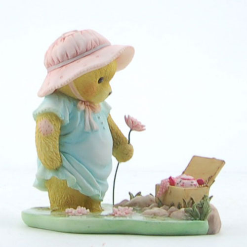 Cherished Teddies Evelyn: Stop And Smell The Water Lilies CT1301