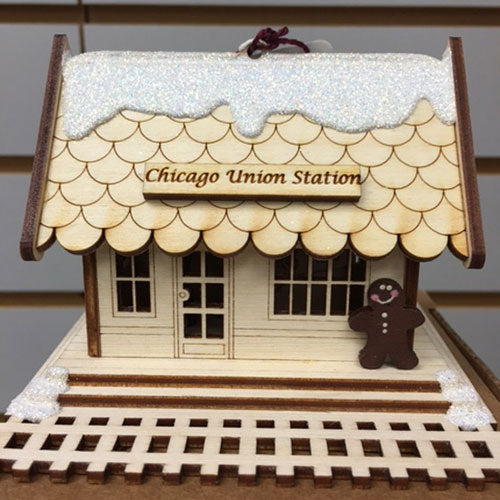 Ginger Cottages All Aboard Train Depot Union Station GC105C