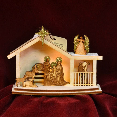 Ginger Cottages Nativity GC122