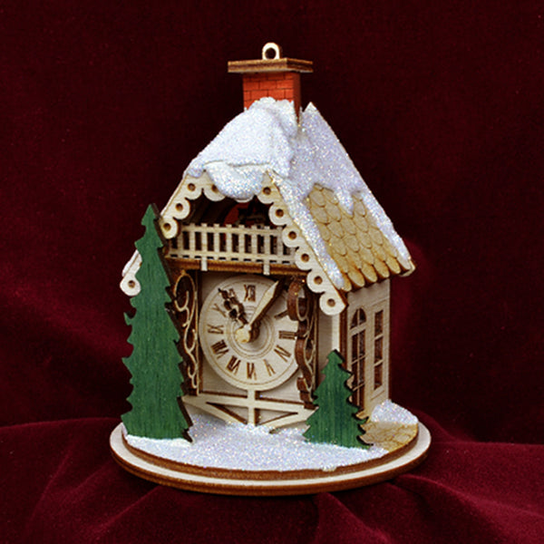 Ginger Cottages Alpine Time Clock Shoppe GC125