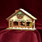Ginger Cottages Peppermint Twist Pretzel Shop GC132