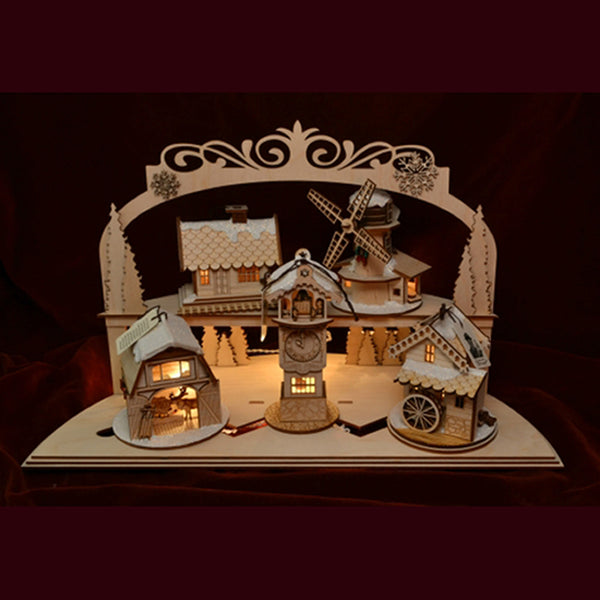 Ginger Cottages Ginger Cottage Arch Display GCD102