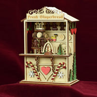 Ginger Cottages Gingerbread Town Music Box GCM105