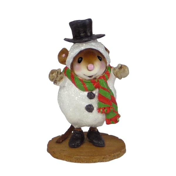 Wee Forest Folk Snowmouse - Sandy M543