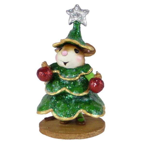 Wee Forest Folk Chris-Mouse Tree - Lee M545