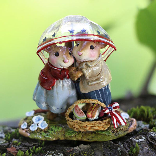 Wee Forest Folk Happiness with Sprinkles in July LTD M639b