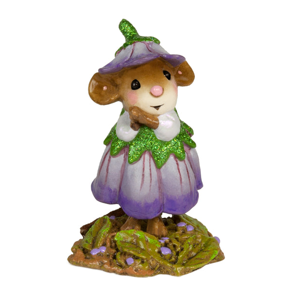 Wee Forest Folk Wee Flower Mouse Of The Month - Feburary M640B