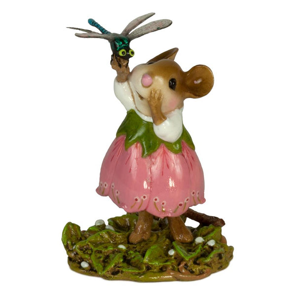 Wee Forest Folk Pretty Perch In Pink M643_p