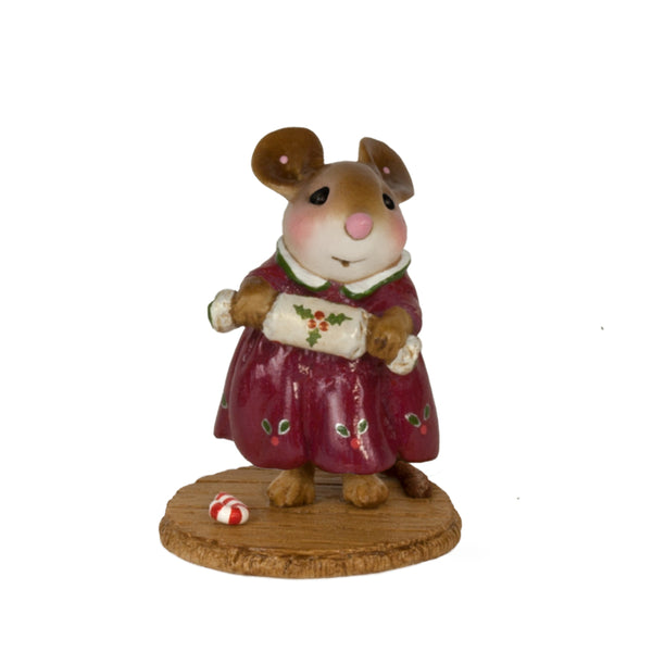 Wee Forest Folk Christmas Cracker Maroon M656m