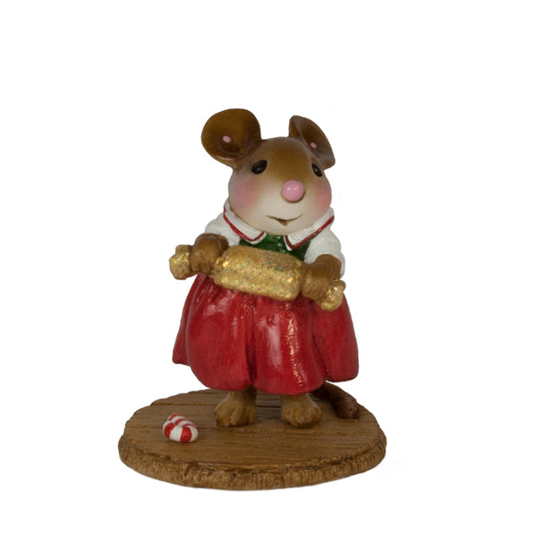 Wee Forest Folk Christmas Cracker Red M656r