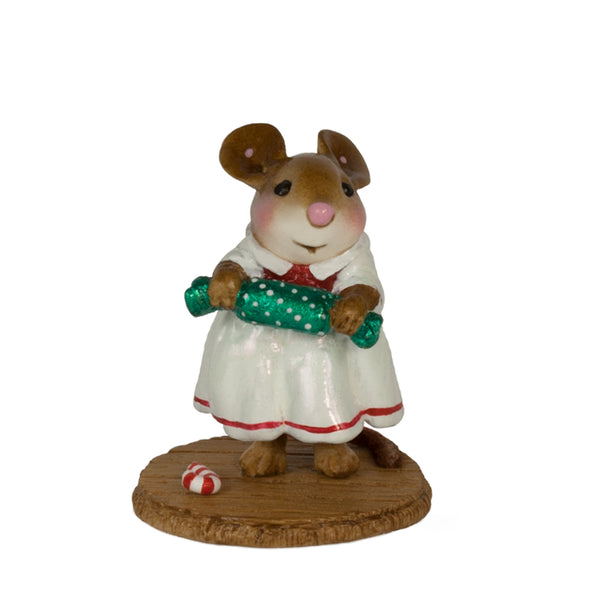 Wee Forest Folk Christmas Cracker White M656w