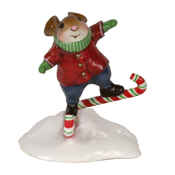 Wee Forest Folk Candy Cane Careener M663