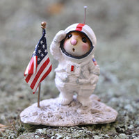 Wee Forest Folk Moon Mouse Salute - Limited M78a