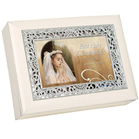 Communion Girl Music Box OMB142SI