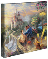 Kinkade Beauty & Beast Gallery Wrap 14x14 55392