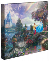 Kinkade Cinderella Wishes Upon Gallery Wrap 14x14 52480