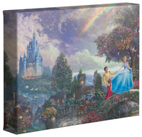Kinkade Cinderella Wishes Gallery Wrap 8x10 68350