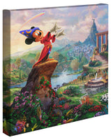 Kinkade Fantasia Mickey Gallery Wrap 14x14 63087