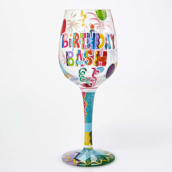 Lolita Wine Glass Birthday Bash GLS115526H