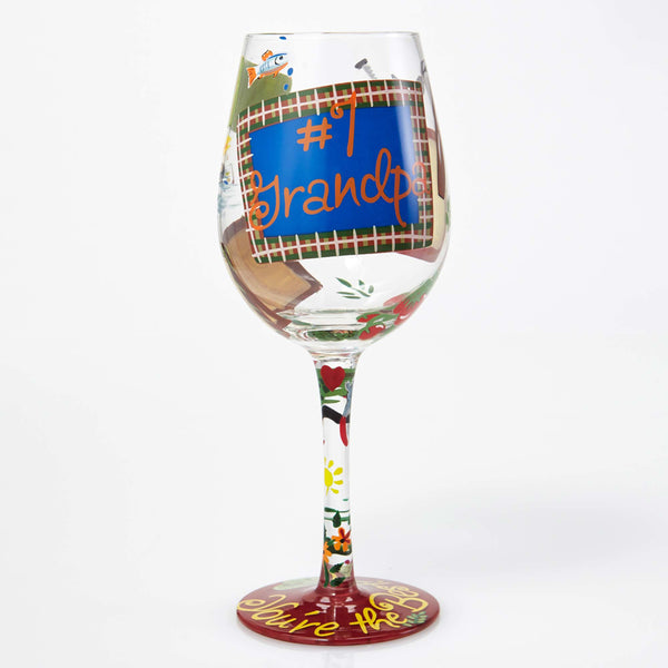 Lolita Wine Glass #1 Grandpa GLS115532A