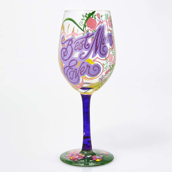 Lolita Wine Glass Best Mom Ever GLS115533K