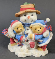 Cherished Teddies Frank & Helen - Snow One Like You 352950