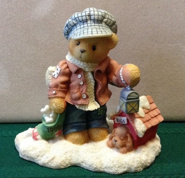 Cherished Teddies Rich- Always Paws For Holiday Treats 352721
