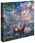 Kinkade Tangled Gallery Wrap 14x14 62256