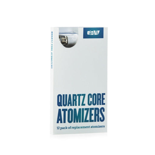 12 Pack of Quartz Core Atomizers by Grav Labs
