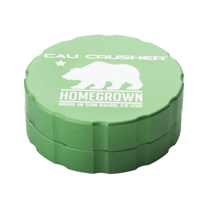 Homegrown Standard Grinder by Cali Crusher - 2 Piece Aluminum - 2.35 Inches