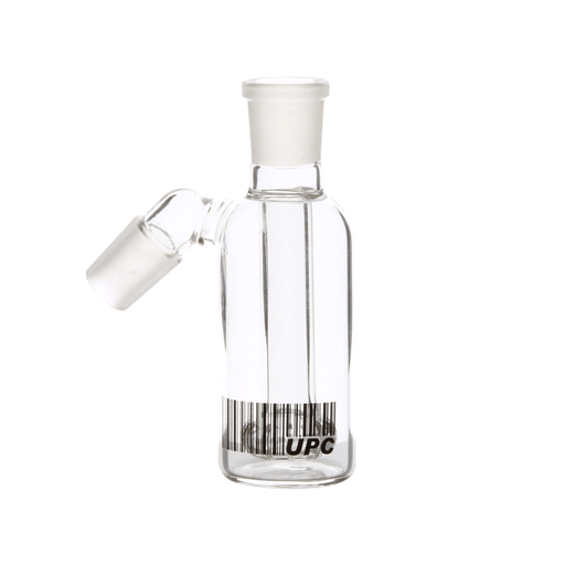 Standard Clear Glass Ash Catcher with Showerhead Percolator - Various Sizes